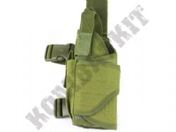Left Leg Gun Holster Fully Adjustable for Airsoft Air Pistols & BB Handguns Green OD